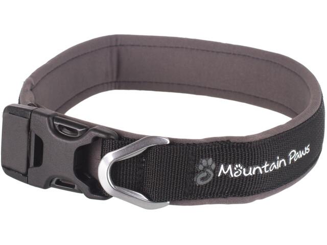 Mountain Paws Collier de chien - Article pour animaux - XL noir